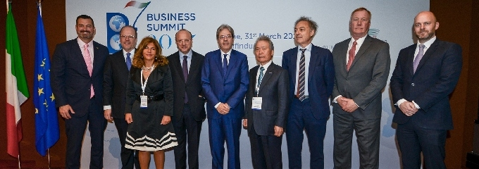 B7 Business leaders meeting, March 2017, Rome – Joint declaration