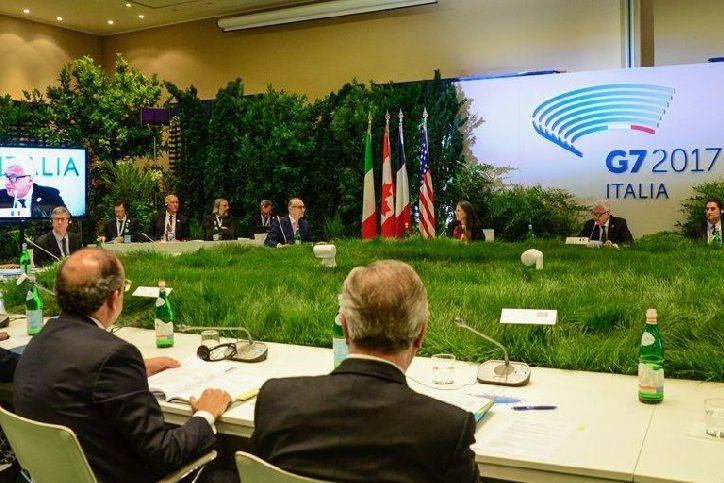 Environment Ministers' Meeting – Communique, Bologna, Italy