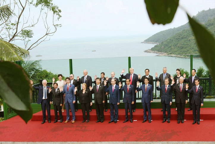 APEC: Leaders of the 21 member economies issue the Da Nang Declaration