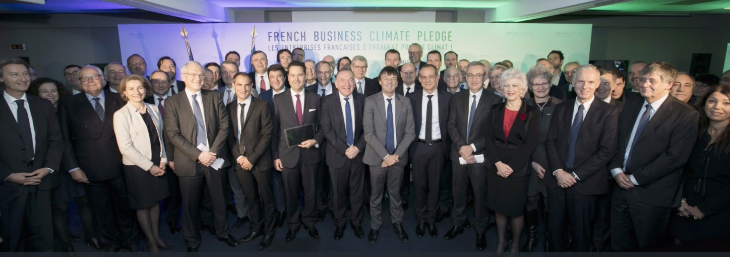MEDEF: At One Planet Summit, business demonstrates its central role in fighting climate change