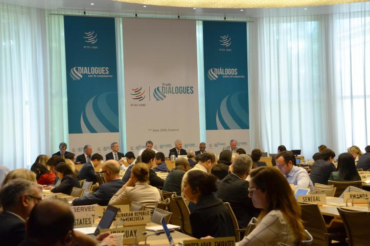 B20 attends Trade Dialogues event at the WTO´s headquarters in Geneva