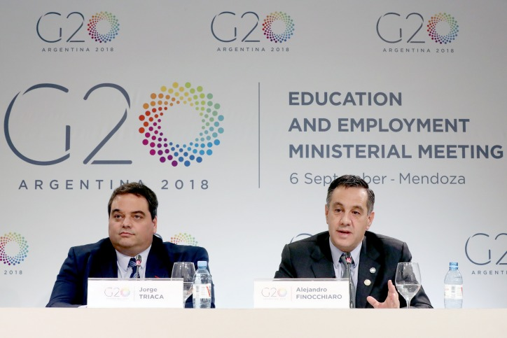 G20 encourages training in skills to tackle challenges posed by future of work