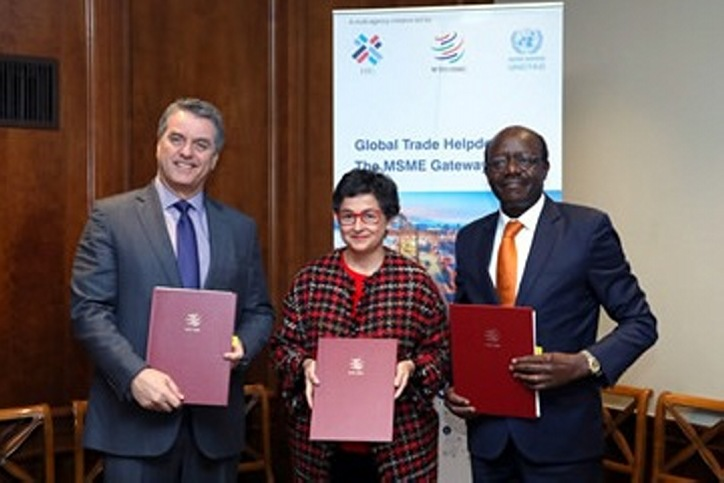 UNCTAD, ITC and WTO to develop the Global Trade Helpdesk