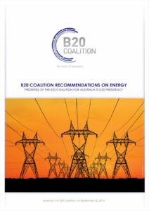 GLOBAL-BUSINESS-COALITION-POSITION PAPER-2014-RECOMMENDATIONS-ON-ENERGY-TO-POLICYMAKERS