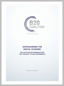 Global Business Coalition Recommendations on IT Security to G20 Governments