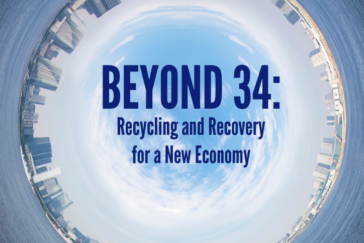 "USC Foundation launches ""Beyond 34: Recycling and Recovery for A New Economy"""