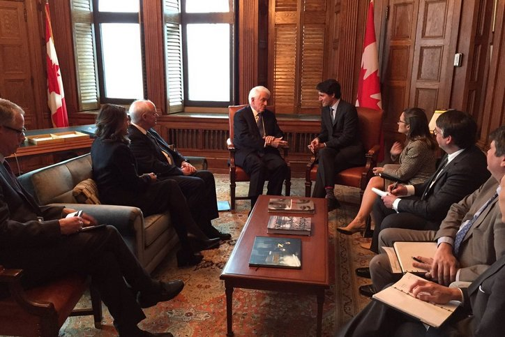 CCC hosts U.S. Chamber President Tom Donohue to strengthen business