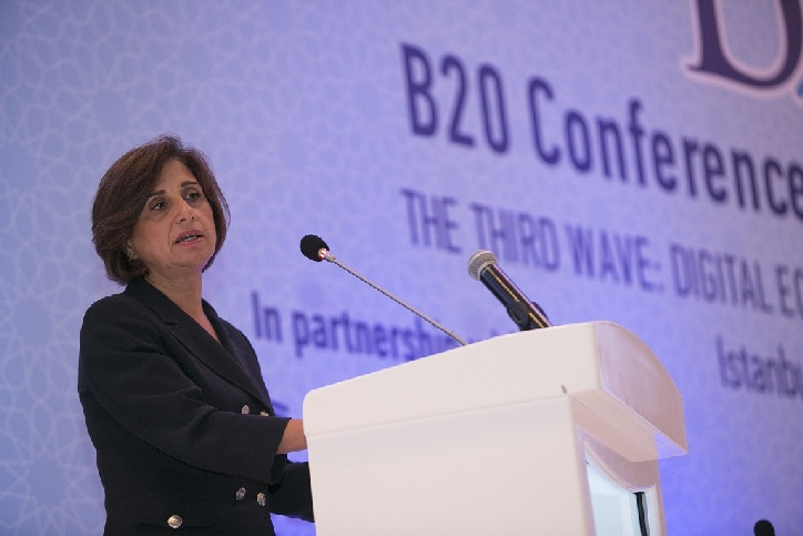 The first B20 Digital Economy conference takes place in Istanbul