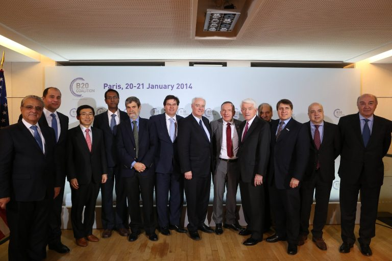 First Plenary Meeting of Global Business Coalition held in Paris
