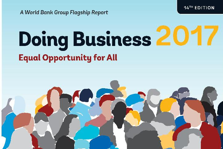 WB: Annual report on the ease of doing business