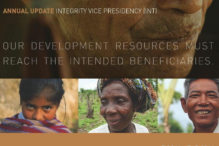World Bank: Annual Integrity Update