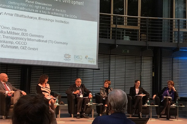 UIA participated in a B20 conference on corporate responsibility