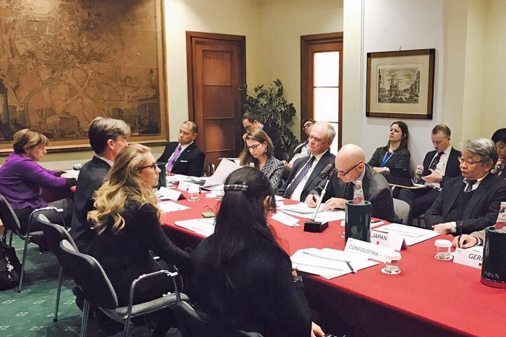 B7 Italy Presidency meets the Sherpas to illustrate priorities for March 30-31 Summit