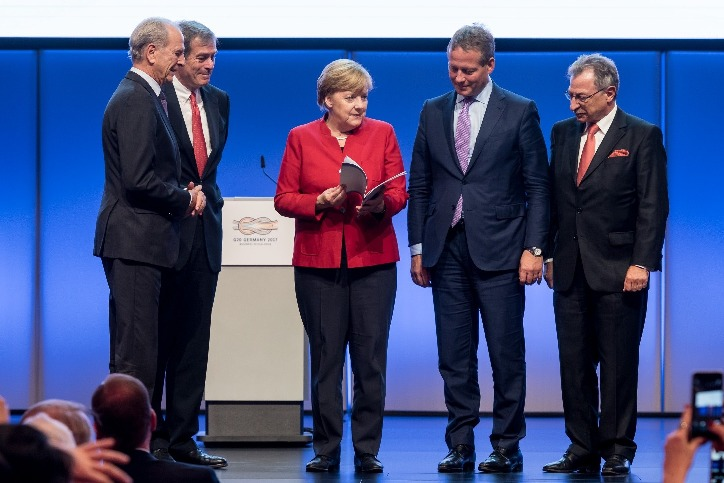 B20 Germany hands over its policy recommendations to the G20 Presidency