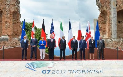 G7 Summit: The Leaders release a 39-point Communiqué, Taormina, Italy