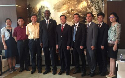 CCPIT & UNEP to foster training cooperation in trade & sustainable development