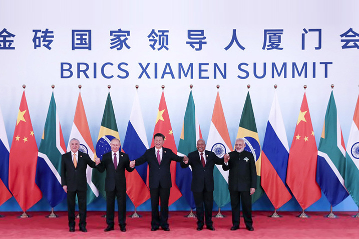 BRICS leaders Xiamen Declaration- 2017 BRICS Summit