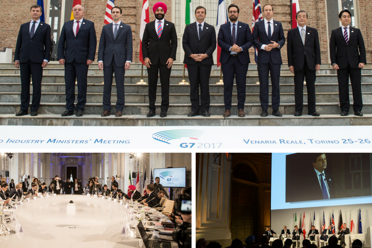The G7- ICT- Industry Ministerial meeting declaration