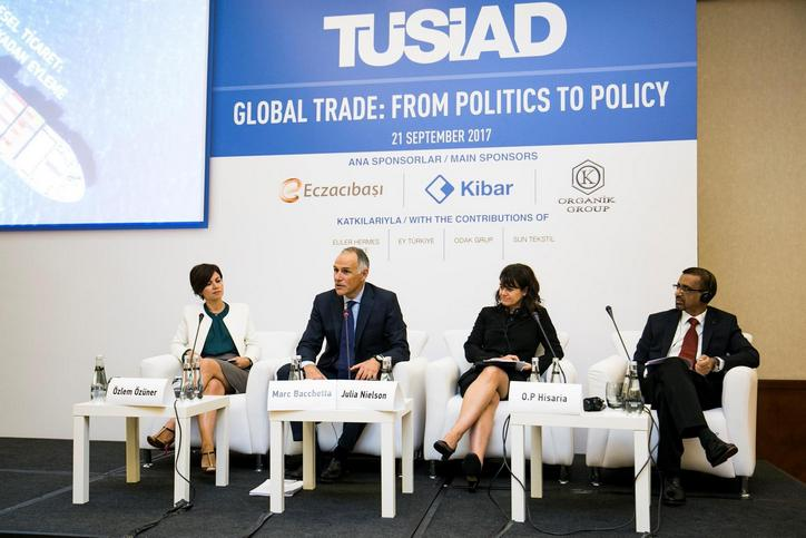 """TUSIAD organizes a seminar on """"Global Trade: From Politics to Policy"""" in Istanbul"""
