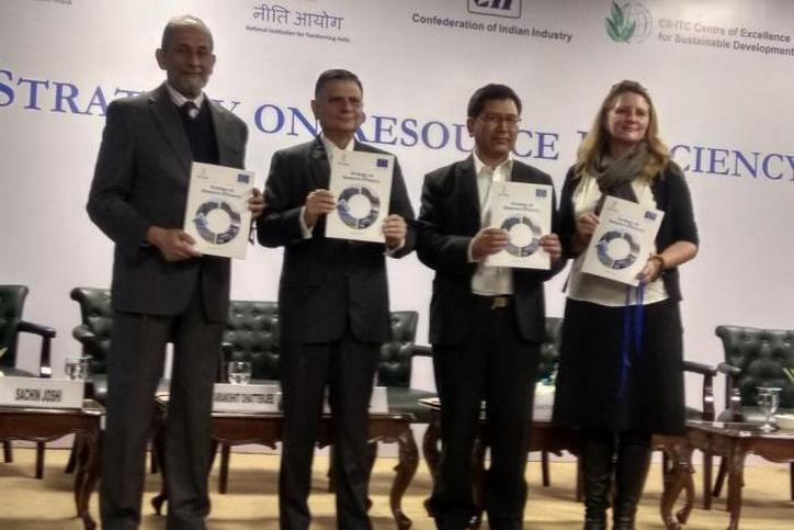 NITI Aayog & EU delegation to India release the Strategy on Resource Efficiency