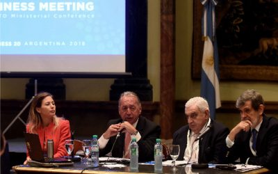 B20 Argentina: Business Meeting B20-MC11 held at the Buenos Aires