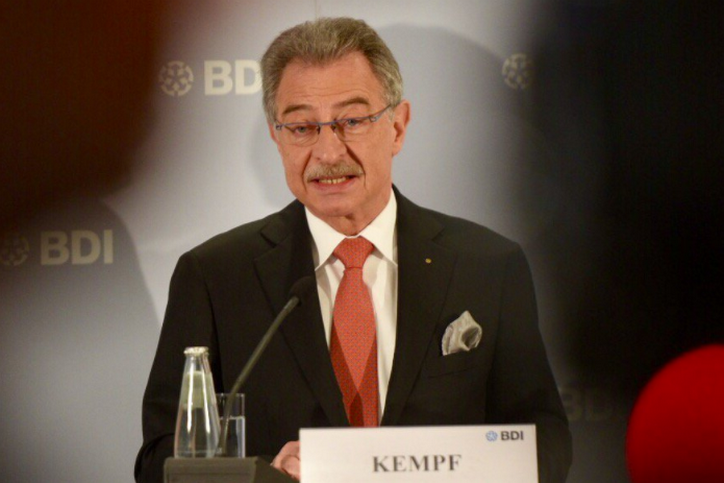"""BDI President Dieter Kempf: """"We urgently need a new government"""""""