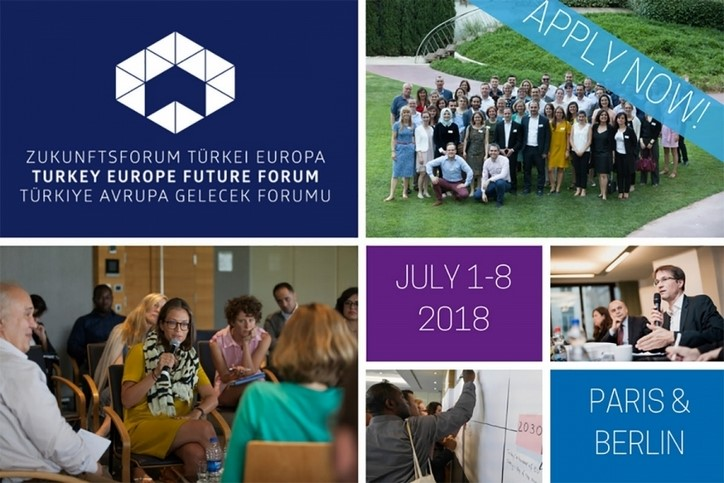 TUSIAD: 4th Turkey Europe Future Forum from July 01-08, 2018 in Paris and Berlin