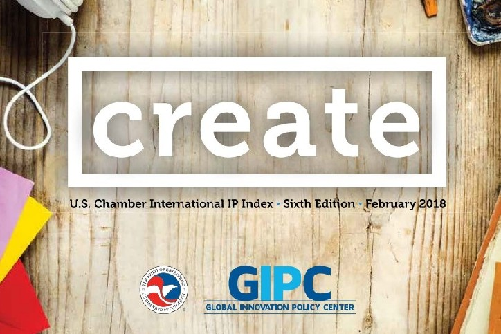 USCC: Global Innovation Policy Center releases sixth Annual International IP Index