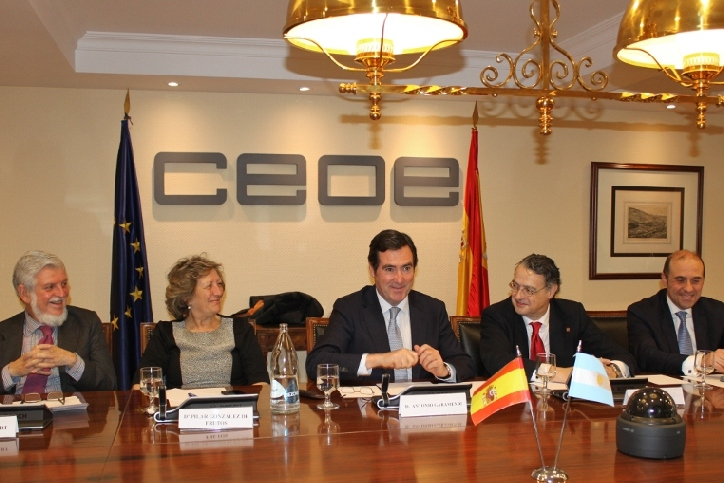CEOE: Business meeting with B20 Policy Sherpa Fernando Landa in Madrid
