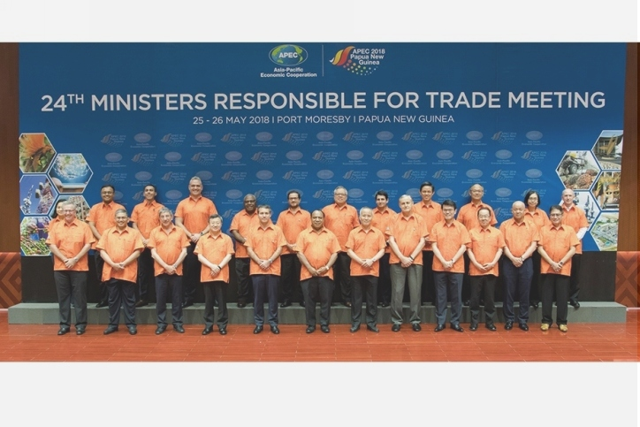 APEC statement – outcomes of the 2018 APEC Ministers Responsible for Trade