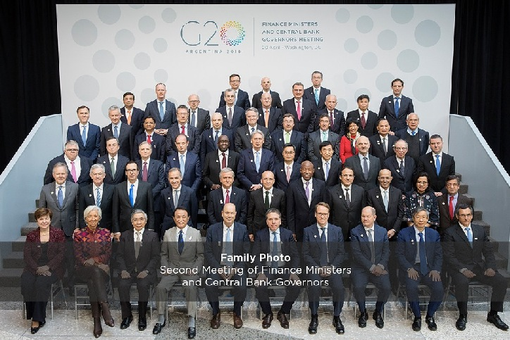 G20: Consensus on the positive outlook for global economic growth