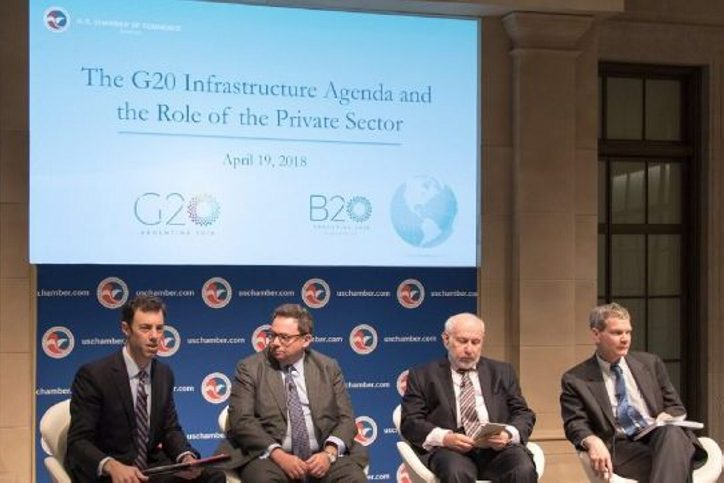 G20 and B20 agree on the need to finance infrastructure projects