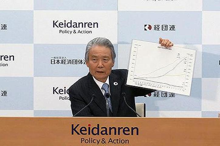 Keidanren: Chairman Sakakibara looks back on four years as Chairman