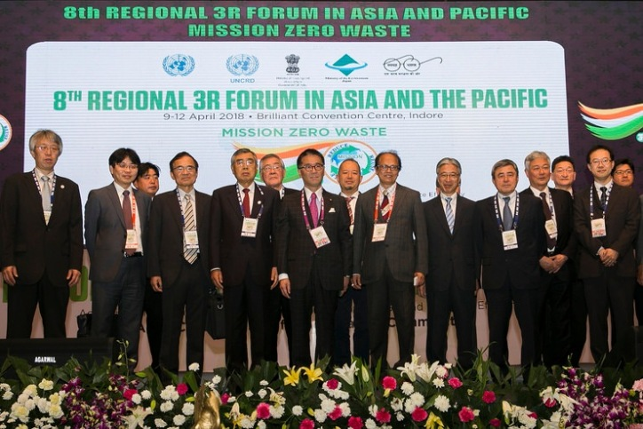 UNCRD: 8th Regional 3R Forum in Asia and the Pacific – Indore 3R Declaration of Asian Mayors