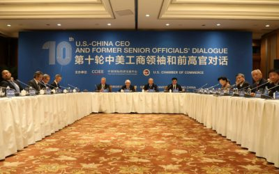 USCC President leads tenth US-China CEO Dialogue in Beijing