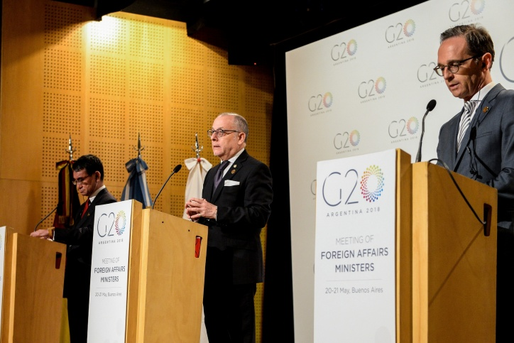 G20 Foreign ministers give strong backing to multilateralism