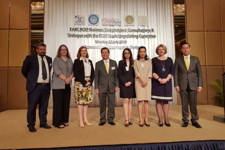 Ai Group attends RCEP Trade Negotiating Committee meeting in Bangkok