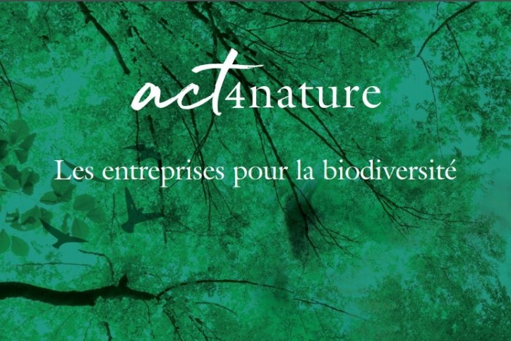 "MEDEF: 65 companies join ""Act4nature"" initiative to protect, enhance & restore biodiversity"