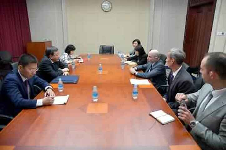 CCPIT and US-China Business Council discuss Sino-U.S. economic and trade relations
