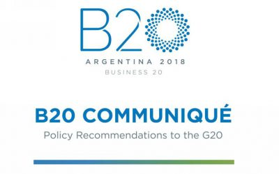 B20 Argentina presents its recommendations to President Mauricio Macri