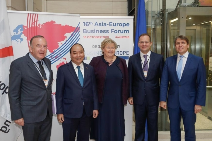 BusinessEurope: 16th Asia-Europe Business Forum Brussels