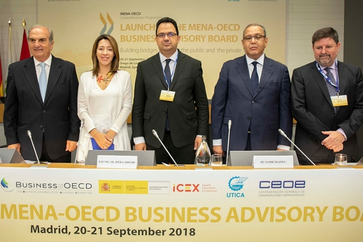 CEOE, OECD and UTICA presented the MENA-OECD Business Advisory Council