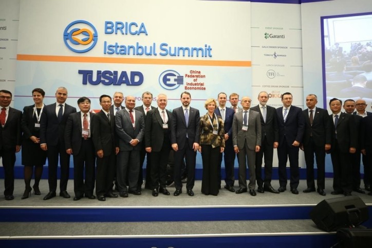 TUSIAD: BRICA summit gathered countries located on the silk road