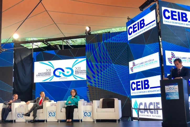 GBC-CEOE-CEIB, SEGIB and CACIF inaugurate the XII Ibero-American Business Meeting in La Antigua, Guatemala