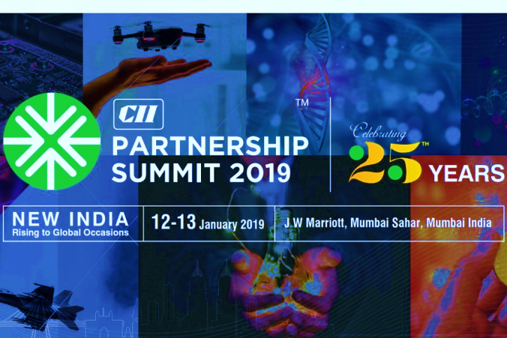 CII Partnership Summit 2019, Mumbai, 12 – 13 January