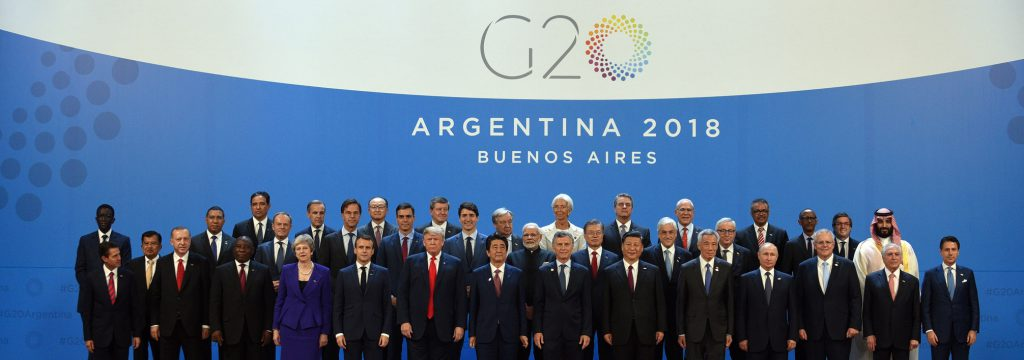GBC-G20 Argentina 2018 Leaders declaration - Building consensus for fair and sustainable development