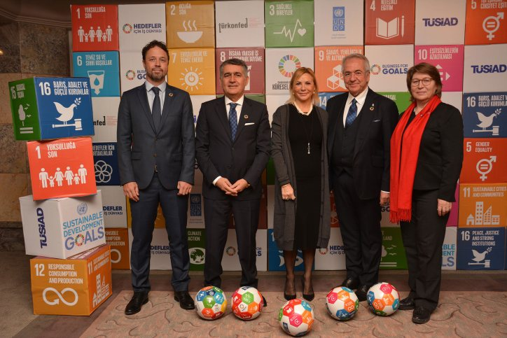 "TUSIAD: ""Business For Goals Platform"" – joint initiative with TURKONFED and UNDP"
