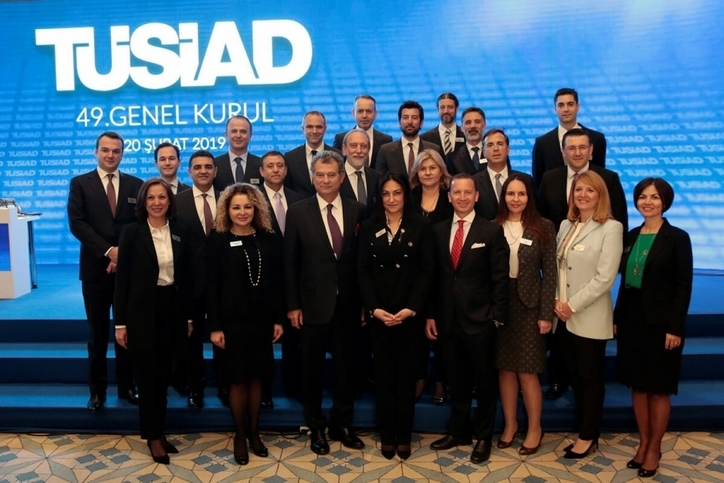 TUSIAD: Simone Kaslowski elected President at 49th General Assembly