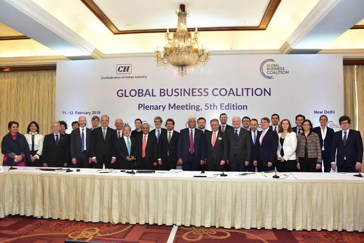 Communique: Global Business Coalition Presidency handover