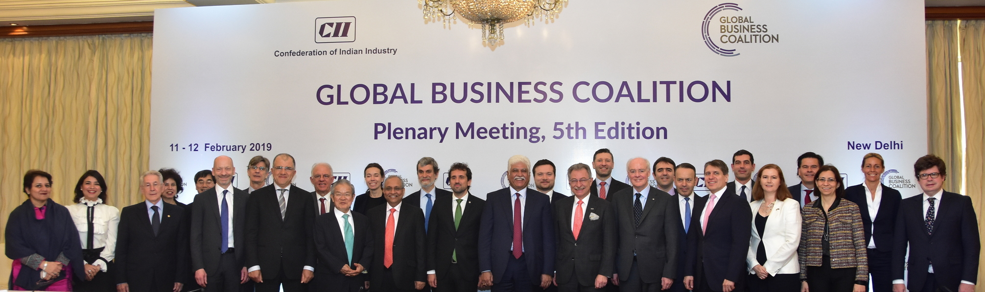 GBC Plenary 2019, New Delhi-Global Business Coalition (GBC) Presidency Handover
